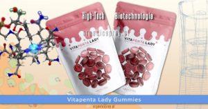 Vitapenta Lady multiwitaminowy cukierek gumowy dla kobiet